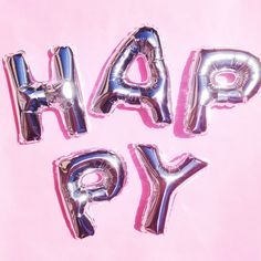 Happy balloons // creative decoration photography idea and inspiration Happy Balloons, Number Balloons, Letter Balloons, Foil Balloons, Sailor Moon, We Happy Few, Happy Birthday, 17th Birthday, Birthday List