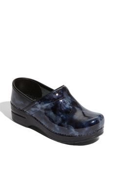 Dansko 'Professional' Marbled Patent Leather Clog available at #Nordstrom