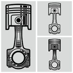 Find Exploding Car Engine Piston Vector Illustration stock images in HD and millions of other royalty-free stock photos, illustrations and vectors in the Shutterstock collection. Mini Tattoos, Car Tattoos, Finger Tattoos, Body Art Tattoos, Tribal Tattoos, Illustration Sketches, Illustrations, Engine Tattoo, Engine Pistons