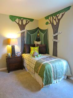 Boys room- decoration (ideas) Camping-so cute!