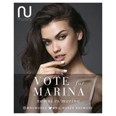 #VOTENOW ❗️ For our girl @marinalbino to be a part of the @numuses calendar…