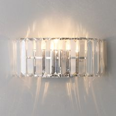 Buy Silver John Lewis Frieda Wall Light from our Wall Lighting range at John Lewis. Wall Light Shades, Ceiling Shades, Sitting Room Lights, Sparkling Lights, Wall Lights, Ceiling Lights, Modern Wall Sconces, Curtains With Blinds, Light Fittings