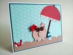 Piggy on the Beach