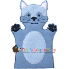 Wolf Hand and Finger Puppet In The Hoop by TheAppliquePlace, $4.00