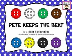 Pete Keeps the Beat - K-1 Beat Exploration