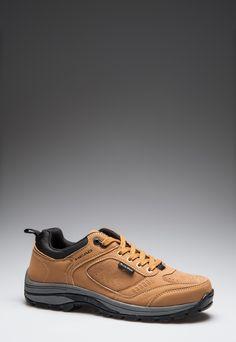 Head  Unisex DuraPlus Camel Brown Sport Shoes    126,90 лв.  57,90 лв.    Head  Описание на продукта:  Спортни обувки в кафяво с характеристики:  - объл връх  - стабилна подметка  - връзки  - DuraPlus Technology – първокачествен непромокаем материал, който диша.    Състав:  Външна част: кожа, синтетик  Вътрешна част: текстил  Подметка: етилен-винил ацетат    Размери на външната подметка:  Номер 41  Дължина: 29 см  Ширина: 11 см  Размерите са приблизителни.     Код на продукта:  NW-010-422