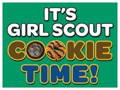 girl scouts cookie sales - Google Search