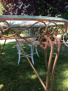 Salterini Wrought Iron Patio Set Salterini Chairs Salterini