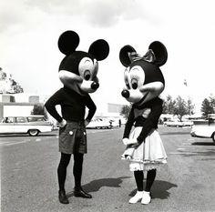 Mickey and Minnie - 1950    #history #disney