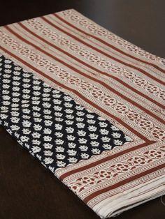 Bagru Hand Block Printed Cotton Saree