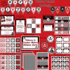 Sweetly Chic Events Pirate Party Inspiration Pirate Printables