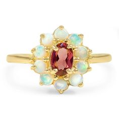 14K Yellow Gold The Wan Ring from Brilliant Earth---I absolutely LOVE this ring! Trisha