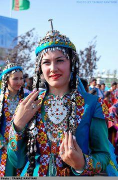 Woman From Turkmenbashi, Republic of Turkmenistan