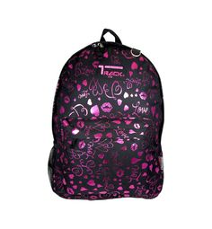 PINK Hearts Lips Backpack School Pack Bag 205 Back Pack Free Shipping  Print NEW #Triplegear #Backpack