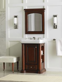 Buy the Danze Mahogany Direct. Shop for the Danze Mahogany Cirtangular Wood Vanity Cabinet Only and save. Home, Vanity, Room Dimensions, Home Center, 24 Vanity, Mirror Cabinets, Bathroom Vanity, Bathroom, Panel Doors