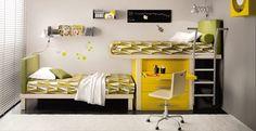 Muebles Juveniles que aprovechan el espacio | DecoPeques -Decoración infantil, Bebés y Niños