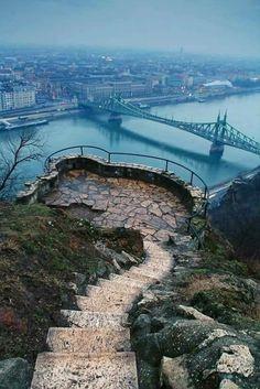 Liberty Bridge of Budapest