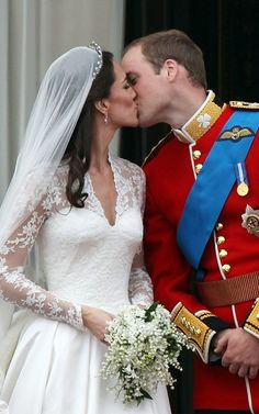 Kate Middleton & Prince William wed