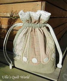 f8d3686e1 Ulla's Quilt World: Angel and pattern, quilt Modelos De Bolsas, Bolsas De  Tecido