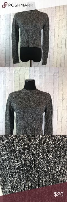 """✨A X Armani Xchange Vintage Sweater-Flaw✨ •Item #: 281  YOU ARE BUYING: Armani xchange Sweater   SIZE: L  CONDITION: Rip in armpit. Probably an easy fix if You enjoy sewing.    MEASUREMENTS ⤵️   PIT TO PIT: 17.5""""  LENGTH: 18.5""""  PIT TO SLEEVE: 18""""   ▪️The dress form I use is a U.S. Size 6/8 With approximate measurements as follow:  34""""x26""""x36"""" (Bust, waist, hips)   ▪️Measurements I provide are taken when the garment is laid flat, to the best of my ability. A/X Armani Exchange Sweaters Crew…"""