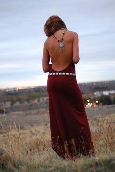 Dress by Rachel Victoria. Simply elegant.