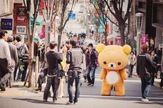 manymanyrandoms:    The scary thing is that no one is looking at the giant teddy!