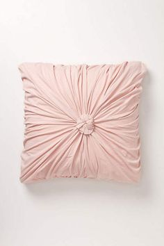 Rosette Euro Sham - anthropologie.com  I need three in this color....would love a blanket to match.  Putting with gray in my guest room.