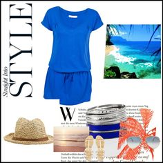"""""""Off the beach straight to lunch"""" by gilleastwood on Polyvore Lunch, Polyvore, Image, Eat Lunch, Lunches"""
