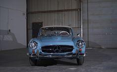 1962 Mercedes Benz #190SL auctioned off by http://www.morphyauctions.com. For all your Mercedes Benz #190SL restoration needs please visit us at http://www.bruceadams190sl.com. #BruceAdams190SL.