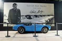 New Shelby Museum Plans Announced at Carroll Hall Shelby Trust Founder's Reception