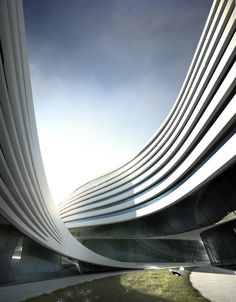 Futuristic Architecture, Beko Masterplanby Zaha Hadid Architects   Designs by Zaha Hadid to convert a textile factory in Belgrade, Serbia into a free-flowing complex of apartments, offices and leisure.