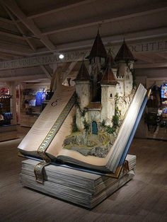 I would like this smack in the middle of my library... talk about jumping into the pages of a book!