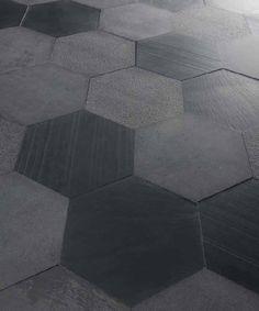 Mosaïque d'intérieur / au sol / en ardoise / mat THE NEUTRALS : BLACK Artesia