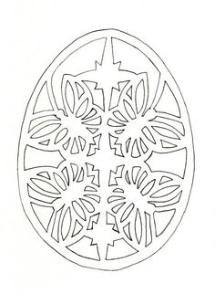 inspiration for an Easter egg: let's see who has the patience/know how to do this design!