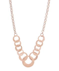 Look what I found on #zulily! Copper Rings Station Necklace #zulilyfinds