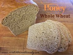 This bread is tender and soft… It's not too sweet at all… just a touch of honey! It is simple to make whether you are using a mixer or doing it by hand… 6 simple ingredients… PERXFOOD. Quick Bread, How To Make Bread, Amish White Bread, Honey Wheat Bread, Irish Soda Bread Recipe, Fussy Eaters, Easy Meals For Kids, Bread Rolls, Bread Baking