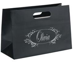 Olivia Boutique Die Cut Shopper Bag (Foil)