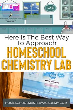 Here Is The Best Way To Approach Homeschool Chemistry Lab Chemistry Labs, Chemistry Teacher, Science Chemistry, High School Courses, Lab Report, Ph Meter, Science Curriculum, Homeschool High School, Chemical Reactions