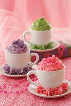 O sentido literal de cupcake... rs...