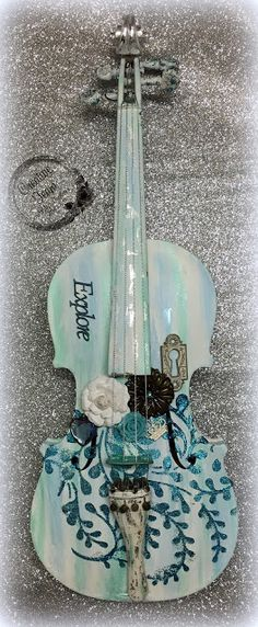 Couture Creations - Tracey Cooly Altered Violin
