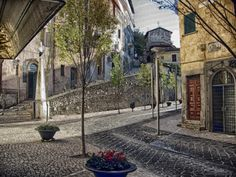 Olevano Romano - Via Roma