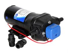 Jabsco - Par Max pressure-controlled pump / Pressurised Fresh Water Pumps / Pumps / Marine / Xylem JabscoShop - Jabsco & Rule Pumps and more - from the experts Water Pump System, Water Systems, Submersible Pump, Pumps, Water Tank, Fresh Water, Ebay, Sport, Outlets