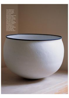 Pottery by the master cratsman Alev Ebuzziya, from the pages of Cornucopia Magazine - the magazine for Connoisseurs of Turkey