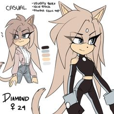 diamond the cat by Rasbii on DeviantArt