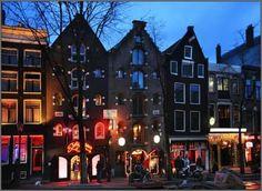 red lightdistrict amsterdam
