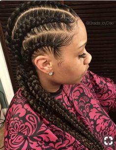 Neat cornrows by – Black Hair Information Community - Braids Black Girl Braids, Girls Braids, My Hairstyle, Braided Hairstyles, Black Hairstyles, Cornrolls Hairstyles Braids, Curly Hair Styles, Natural Hair Styles, Natural Braids