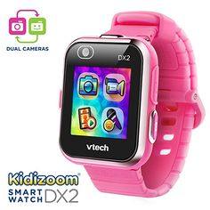 Vtech Kidizoom Kids Smart Watch Smartwatch Pink For Girls Children Watches Best Smart Watches, Cool Watches, Learn To Tell Time, Take Video, Learning Toys, Toys For Girls, Kids Toys, Cool Toys, Amazon
