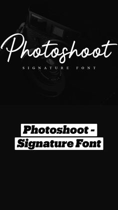 Signature Fonts, Photoshoot, Poster, Photo Shoot, Billboard, Photography