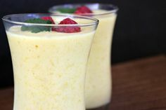 Mango Smoothie - love when mangoes are in season to enjoy them in smoothies like this one!