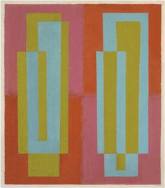 Josef Albers Oscillating (C), 1940–1945 oil on masonite 27 × 24 in. (68.6 × 61 cm) 1976.1.1367